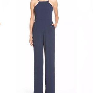 Wayf Navy Blue Jumpsuit